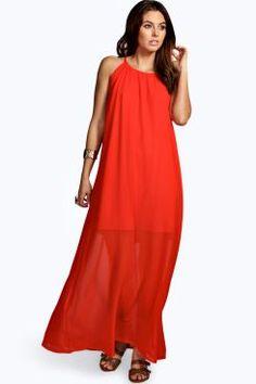Sienna Chiffon High Neck Maxi Dress. Grab marvelous discounts up to 60% Off at Boohoo using Coupon & Promo Codes.