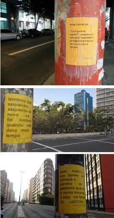 Microrroteiros de Laura Guimarães