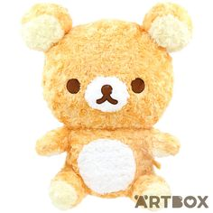 Cuddle up to your own Rilakkuma with this gorgeous Rose Swirl Fur large Premium plush toy! It's made out of super soft fluffy swirly fabric with embroidered features and a classic design, and it will make a beautiful addition to your Rilakkuma collection!
