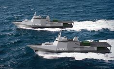 Damen Shipyards vision for bi-national minehunter replacement http://damennlnavy.com/
