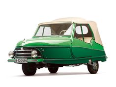 David Convertible, A Spanish microcar manufactured in Barcelona powered by a single cylinder 2 stroke air-cooled engine.