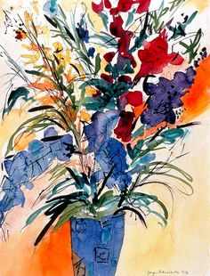 Print of Floral Still Life by Joyefulart on Etsy, $25.00