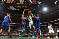 Rajon Rondo about to own some Knicks players ! I hate the Knicks haha