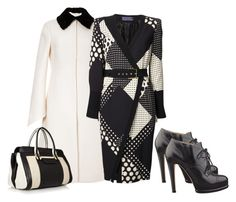 Outstanding by minnieleehaven on Polyvore featuring polyvore, fashion, style, Emanuel Ungaro, Valentino, Nine West, Chloé and clothing