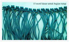 mau tau cara bikin tas ini: oke, yang pertama dilakukan adalah siapkan 10 bungkus tali kur merek apa saja. Warnanya bisa diganti sesuai s...