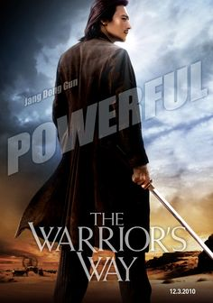 The Warrior's Way , starring Dong-gun Jang, Kate Bosworth, Geoffrey Rush, Danny Huston. A warrior-assassin is forced to hide in a small town in the American Badlands after refusing a mission. #Action #Fantasy #Western