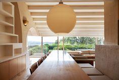 Belgian architect Claude Strebelle's geometric home
