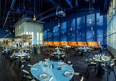 Restaurant interior design: LOFT gastrogrill Cph