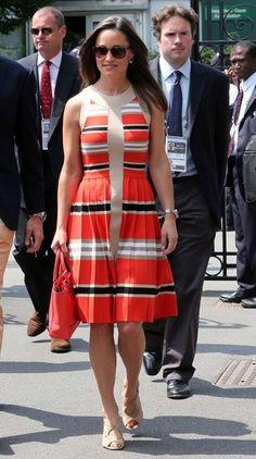 Pippa Middleton Striped Dress