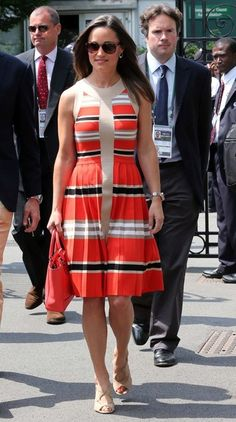 Pippa Middleton Striped Dress