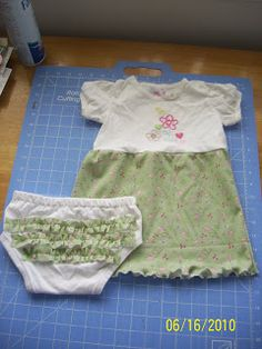 Handy Pants: From onesie to diaper cover - got a little girl with a long torso? This looks like a cute idea for those onsies that fit except too short to be comfortable.