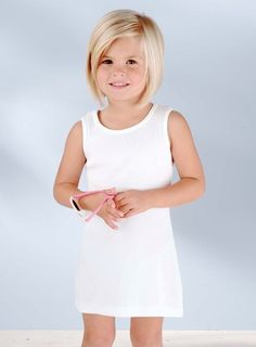 This is such a cute haircut for a little girl!