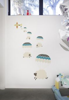 wall decals counting sheep!!! Soooooo cute!!!!!