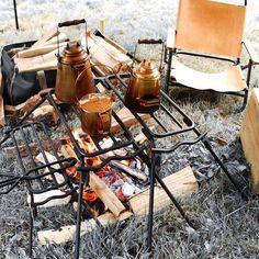 ケトル焚火キャンプ camp camping