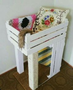 For the shabby chic loving kitties :o)