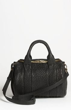 Alexander Wang 'Rockie - Antique Brass' Leather Crossbody Bag available at #Nordstrom