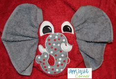 This is just so cute, believe I will try to make some of these bath towels for my grandsons