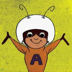 Atom Ant, everyones ...well someone's favorite cartoon character. from a piece about Adam Ant http://blogs.citypages.com/gimmenoise/2013/08/adam_ant_fan_gene.php?page=2