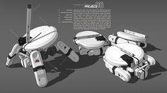 ArtStation - ROBOTS!, Seth Witte