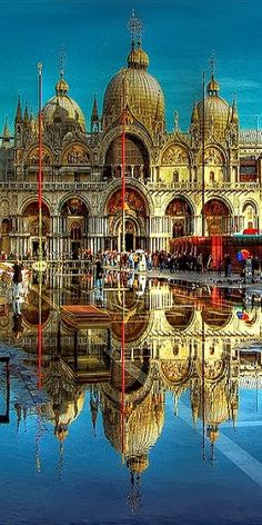 piazza san, architectur, beauti, venice italy, travel, place, san marco, reflect, itali