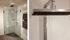 ARC Takdusch blandare och duschvägg | Inspiration från INR