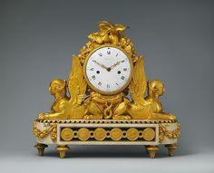 Mantel clock (pendule de cheminée), Belanger, ca. 1783