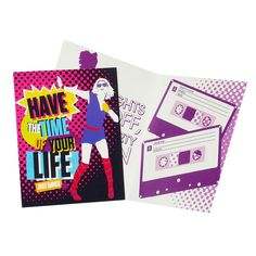 Just Dance Invitations Includes Just Dance Invitations (with envelopes). Weight (lbs) Length (inches) Width (inches) 6 Height(inches) Birthday Party Supplies Multi-colored One Size Birthday Unisex All Ages Dance Party Birthday, 25th Birthday Parties, Party Stores, Just Dance, Party Invitations, Party Time, Party Supplies, Stationery, Teen Parties