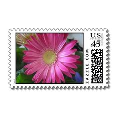 Pink Daisy Princess Stamps