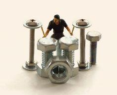 Tatsuya Tanaka Japanese artist - miniaturist