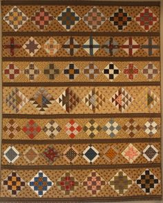 Row By Row Quilt, Judie Rothermel, REPRODUCTION QUILTS FROM THE CIVIL WAR book