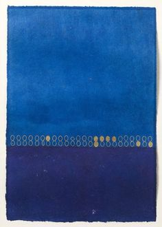 goodmemory: Mira Schendel VIA Kind Of Blue, Love Blue, Santa Helena, Le Grand Bleu, Mood Indigo, Art Textile, Soul Art, Art For Art Sake, Painting Inspiration