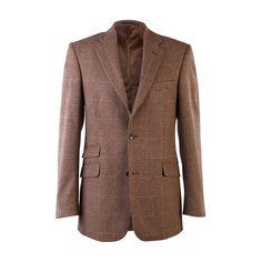 Mens Wool Blazer, Sports Coat, Irish Made, Wool Jacket, Mens Blazer, Wool, Suit Jacket, Wool Blazer, Tweed Jacket - Brown Prince of Wales Wool Blazer Mens, Tweed Jacket, Blazer Jacket, Wool Suit, Prince Of Wales, Sport Coat, Overalls, Photoshop, Suits