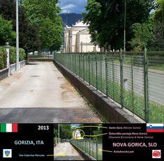 Gorizia & Nova Gorica (2013) Siena, Slovenia, Nova, Italia