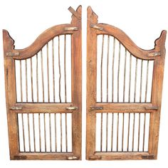 Wooden Dog Gates  England  19th c.