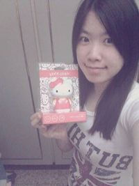 enerpad Hello Kitty 公仔3000mAh行動電源,得標價格20元,最後贏家楓羽翎:  超可愛的Hello Kitty行動電源~不用怕手機沒電了~感謝快標網^^