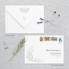 Wedding Stationery, Wedding Invitations, Envelope Address Printing, Envelope Sizes, Addressing Envelopes, Little Boxes, Save The Date, Thank You Cards, Our Wedding