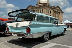 1959 Ford Country Sedan Station Wagon...,Long Roofs Rule!