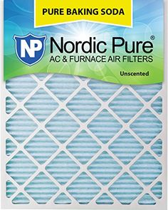 Nordic Pure Pure Baking Soda Air Filters Quantity 3 18 x 30 x 1 >>> Learn more by visiting the image link. (This is an affiliate link) Hvac Filters, Furnace Filters, No Bake Desserts, Baking Desserts, Sweet Notes, Air Filter, Baking Ingredients, Deodorant, Baking Soda