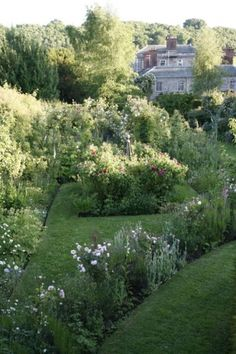 The Dower House Garden, Bridgnorth, Shropshire.  Owner, Katherine Swift, has written a book about the garden - The Morville Hours.