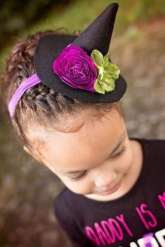 8901574097f DIY Mini Witch Hat Headband