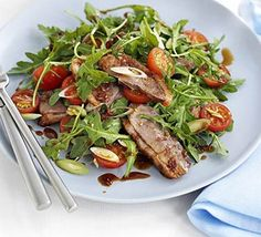 Pep up your salad recipes with this luxury combination of rocket and Chinese dressing