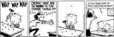 Calvin and Hobbes - trick question