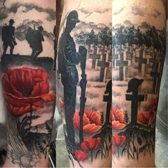 Ideas Tattoo For Guys Christian Remember This For 2019 Army Tattoos, Military Tattoos, Warrior Tattoos, Viking Tattoos, Remembrance Tattoos, Memorial Tattoos, Arm Sleeve Tattoos, Tattoo Sleeve Designs, Tattoo Sleeves
