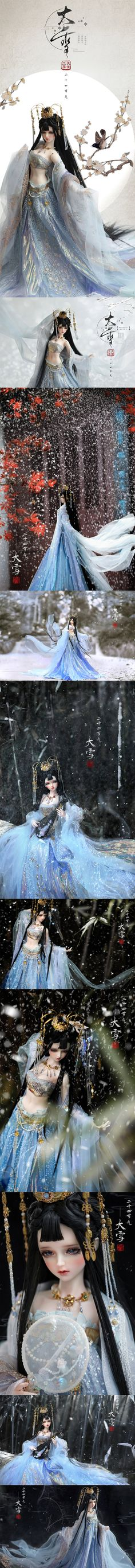 (AS Agency)Time Limited BJD Snow Girl 58cm Ball-Jointed Doll_SD size doll_Angell Studio_DOLL_Ball Jointed Dolls (BJD) company-Legenddoll