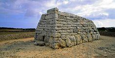 ARTE PREHISTÓRICO. NAVETA DELS TUDONS. - MENORCA (Islas Baleares)