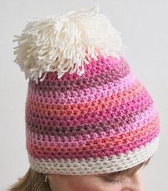 lättvirkad mössa virka fort Knit Crochet, Crochet Hats, Fort, Diy And Crafts, Crochet Patterns, Winter Hats, Cross Stitch, Beanie, Knitting