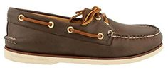 Sperry Top-Sider Men's Gold Cup A/O 2-Eye,Brown Leather,US 8.5 W - Brought to you by Avarsha.com