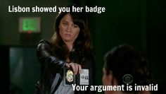 Loved this scene, just for her attitude
