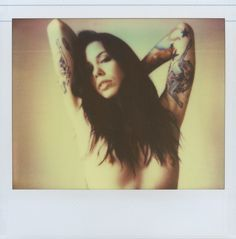 Krysta Kaos with her tattoos / Rich Burroughs