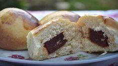 Pãezinhos Recheados com Goiabada Uma receita fácil de preparar e para servir no lanche da tarde. Aqui em casa gostamos de um pão doce, então, acrescentei al
